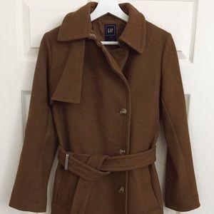 Gap Brown/Camel wool coat
